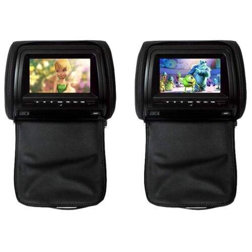 Автомобильный монитор Ergo ER 700HD черный