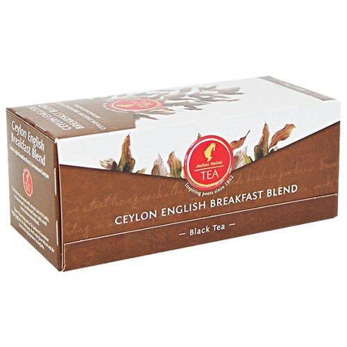 Чай черный Julius Meinl Ceylon english breakfast в пакетиках, 25 шт. чай черный julius meinl assam south india blend в пирамидках 18 шт
