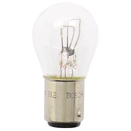 Фото - Лампа автомобильная накаливания Bosch Pure Light 1987302215 12V 24W 1 шт. лампа автомобильная накаливания bosch pure light 1987301017 p21w 12v 21w 2 шт
