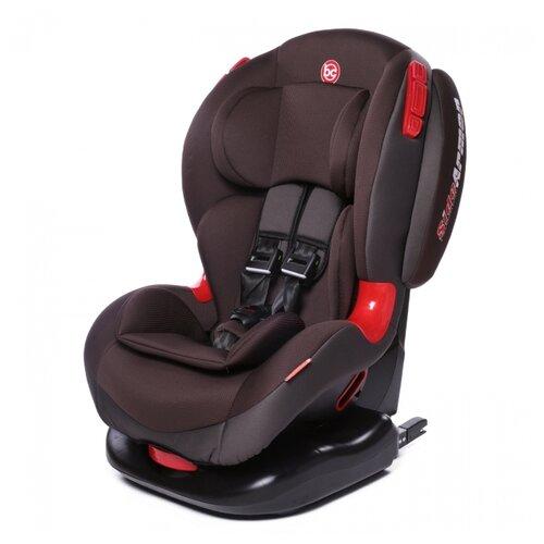 Автокресло группа 1/2 (9-25 кг) Baby Care BC-120 Isofix, коричневый группа 1 2 от 9 до 25 кг baby care bc 120 isofix