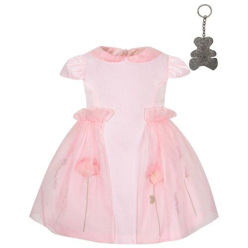 Платье Lapin House размер 80, розовый