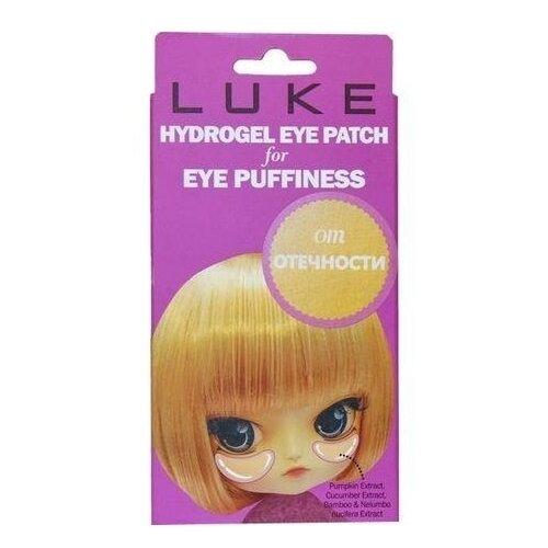 Купить LUKE Гидрогелевые патчи для кожи вокруг глаз от припухлостей, с экстрактами огурца и бамбука, 10 шт.