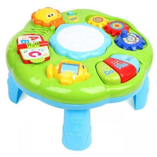 Купить Интерактивная развивающая игрушка Ути-Пути Столик 70693 зеленый/голубой, Развивающие игрушки