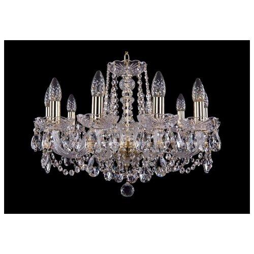 Люстра Bohemia Ivele Crystal 1402 1402/10/195/G, E14, 400 Вт люстра bohemia ivele crystal 1402 1402 8 195 g m711 e14 320 вт