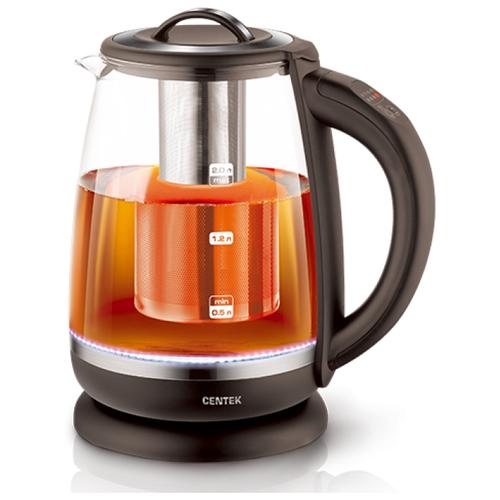 Чайник CENTEK CT-0017, черный чайник электрический centek ct 0017