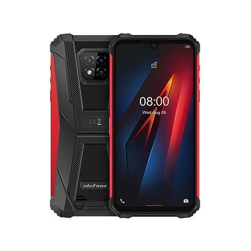 Смартфон Ulefone Armor 8 красный