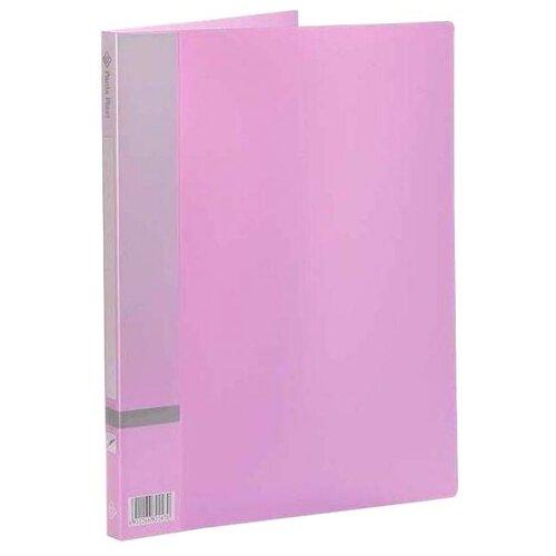 Panta Plast Папка с прижимным механизмом, А4 фиолетовый