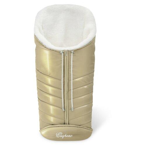 Купить Конверт-мешок Esspero Cosy White 90 см gold, Конверты и спальные мешки