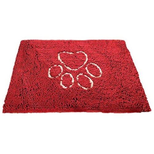 Коврик для собак Dog Gone Smart Doormat M 79х51 см красный