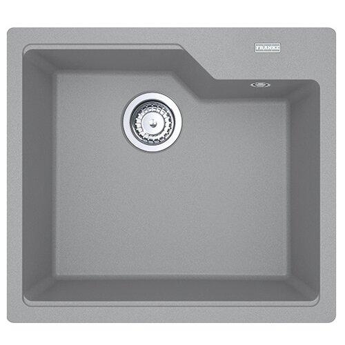 Фото - Врезная кухонная мойка 56 см FRANKE UBG 610-56 серый врезная кухонная мойка 56 см franke sid 610 полярный белый