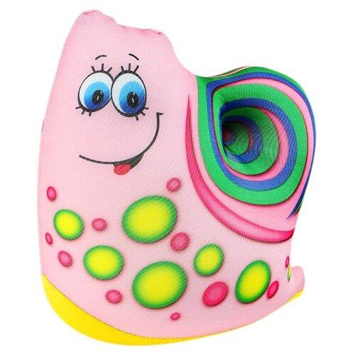 Игрушка для ванной Штучки, к которым тянутся ручки Водоплавчики Улитуля (15аси17мив-3) розовый/зеленый штучки к которым тянутся ручки игрушка для ванной колобашки зайчик