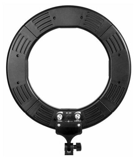 Кольцевой осветитель Okira LED RING 336 CY (черный)