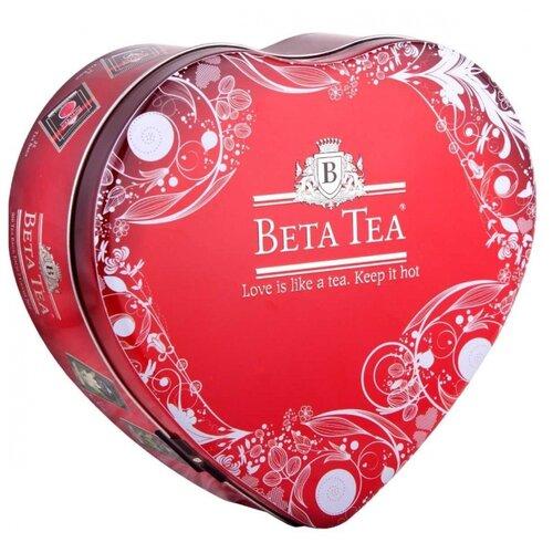 Чай Beta Tea Сердце ассорти в пакетиках подарочный набор , 100 шт.