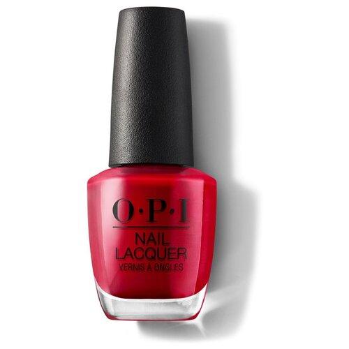 Лак OPI Nail Lacquer Classics, 15 мл, оттенок The Thrill of Brazil лак opi nail lacquer classics 15 мл оттенок she's a bad muffuletta