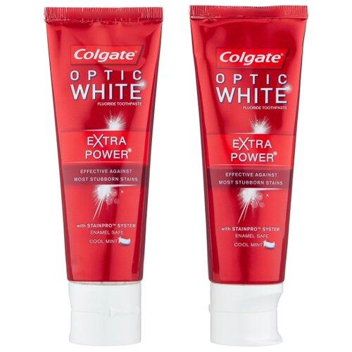 Зубная паста Colgate Optic White Экстра сила, мята, 75 мл