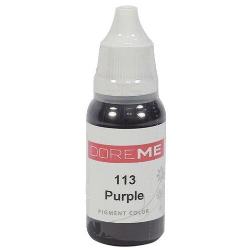 Пигмент для микропигментирования Doreme для век, 15 мл. 113 Purple недорого