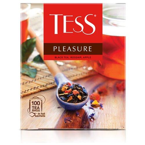 Чай черный Tess Pleasure в пакетиках , 150 г , 100 шт. чай черный tess ceylon 100 г