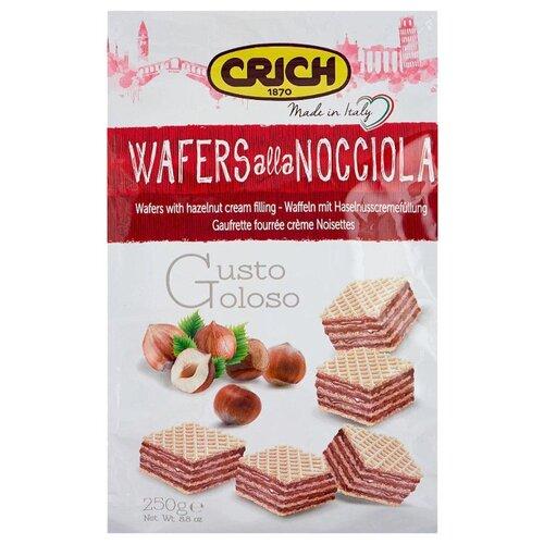 Вафли Crich с орехово-кремовой начинкой 250 г