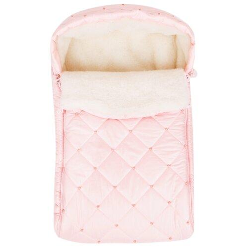 Конверт-мешок Leader Kids Бусинка розовый