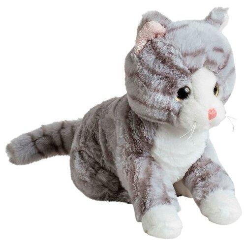 Фото - Мягкая игрушка Molli Кот серый 20 см мягкие игрушки molli кот серый 20 см