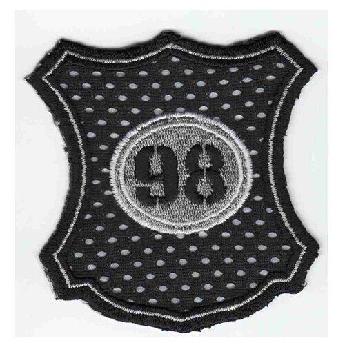 Купить Термоаппликация HKM Fleck 98 Netzstoff silberner Out, 1 шт 6, 5 х 4 см, HKM Textil, Декоративные элементы