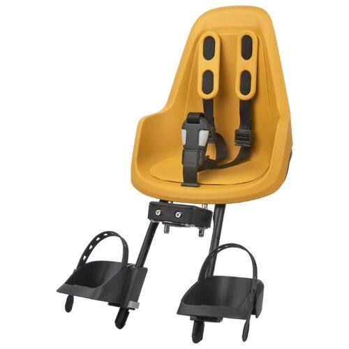 Переднее велокресло Bobike One mini mighty mustard