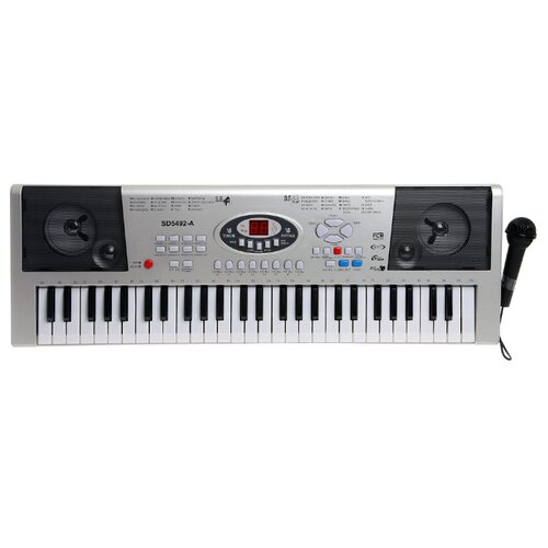 Синтезатор Huarong toys Синтезатор SD5492-A серебристый