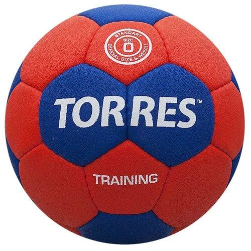 Мяч для гандбола TORRES H30050 красный/синий