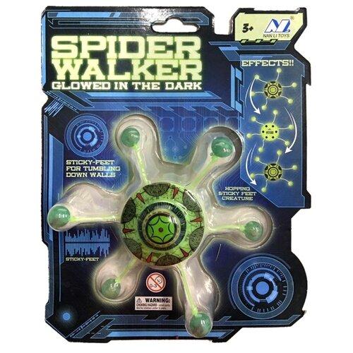 Купить Игрушка-антистресс Nan Li Spider Walker белый/зеленый, Игрушки-антистресс