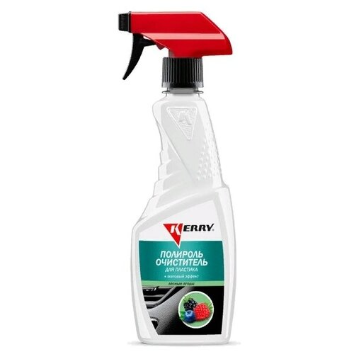 Очиститель-полироль пластика салона KERRY
