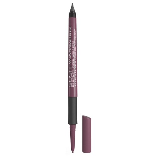 GOSH Карандаш для губ The Ultimate Lipliner-With a Twist 006 mysterious plum карандаш для губ gosh gosh go025lwbckq6
