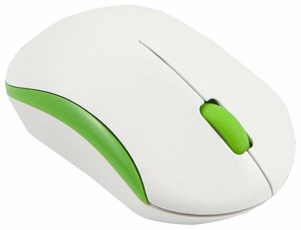 Мышь Mediana WM-350 White-Orange USB