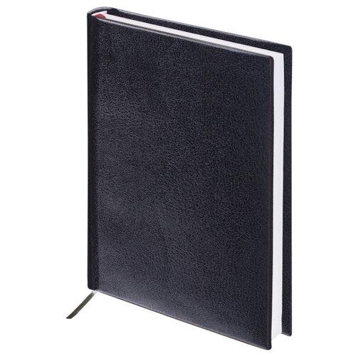 Ежедневник BRAUBERG Select недатированный, искусственная кожа, А5, 160 листов, черный ежедневник brauberg senator датированный на 2021 год искусственная кожа а5 168 листов черный