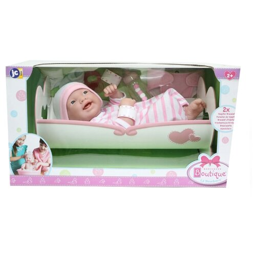 Купить Пупс JC Toys BERENGUER Newborn, 36 см, JC18578, Куклы и пупсы