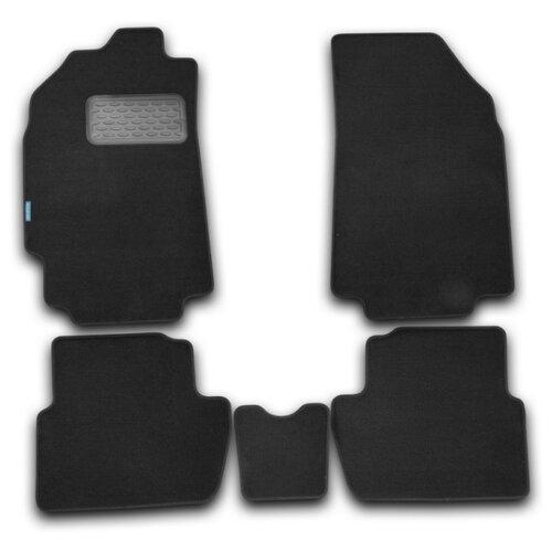 Комплект ковриков KLEVER NLT.08.14.11.110kh для Chevrolet Spark 4 шт. черный