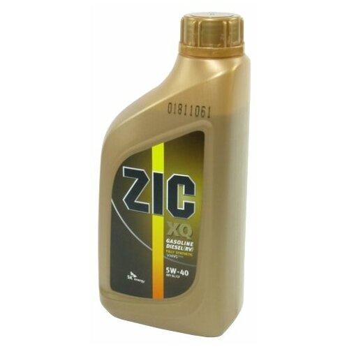 Фото - Моторное масло ZIC XQ 5W-40 1 л xq 100mwt