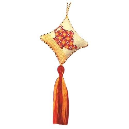 ZENGANA Набор для вышивания бисером и нитками Каркадэ (М-005)