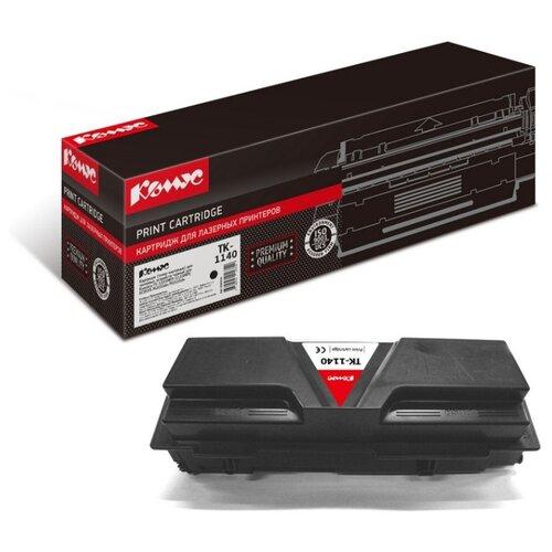 Фото - Картридж лазерный Комус TK-1140 черный, для Kyocera FS-1035/1135 картридж лазерный комус tk 580k черный для kyocera fs c5150dn