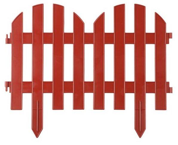 Забор декоративный GRINDA Палисадник