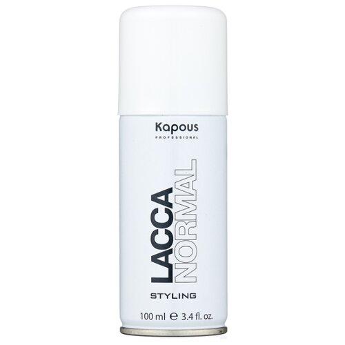 Kapous Professional Лак для волос Lacca Normal, средняя фиксация, 100 мл мультиспрей для укладки волос kapous professional multi spray 18 в 1 250 мл