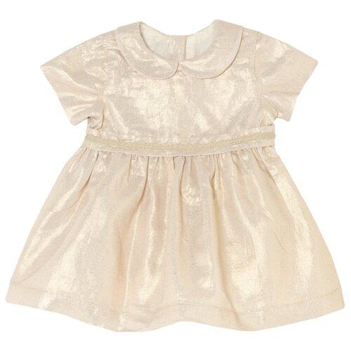 Платье Chicco размер 68, бежевый