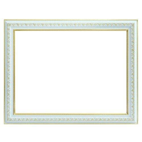 Рама Белоснежка Bella (1056-BL) 40x30 см рама багетная белоснежка bella цвет серебряный золотой 30 х 40 см