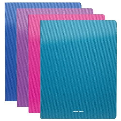 Купить ErichKrause Папка с зажимом Diagonal Neon A4, пластик (47185) в ассортименте, Файлы и папки
