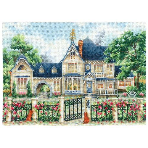 Купить Сделай своими руками Набор для вышивания Английская усадьба 33 х 23, 5 см (А-05), Наборы для вышивания