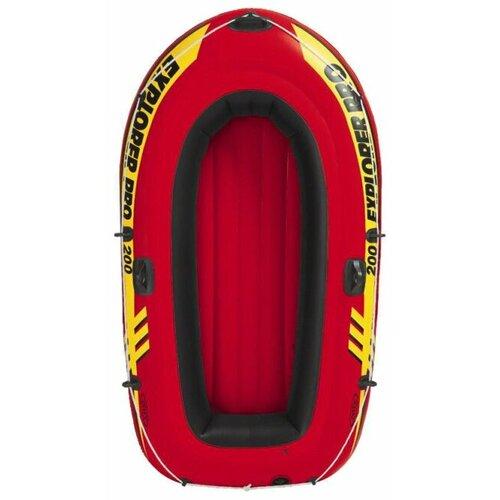 Надувная лодка Intex Explorer-Pro 200 Set (58356) красный