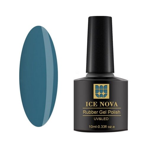 Купить Гель-лак для ногтей ICE NOVA Rubber Gel Polish, 10 мл, 040
