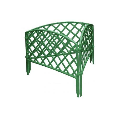 Забор декоративный PALISAD Сетка, зеленый, 3.2 х 0.24 м