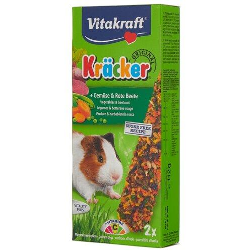 цена на Лакомство для грызунов Vitakraft Крекеры Original овощи и свекла 112 г