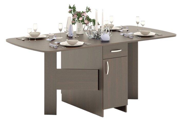 Стол кухонный СОКОЛ СП-09.1 раскладной