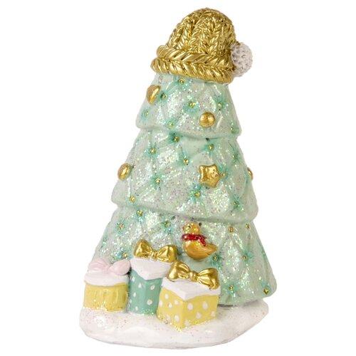 Фото - Фигурка Феникс Present Стеганная елка 8,5 см зеленый/золотой фигурка феникс present дедушка мороз 26 см белый голубой красный